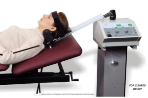 Neck spinal decompression therapy